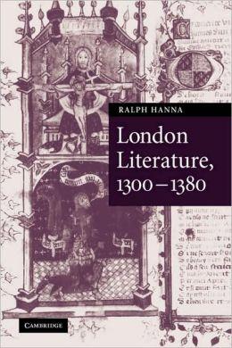 London Literature, 1300-1380