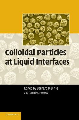 Colloidal Particles at Liquid Interfaces