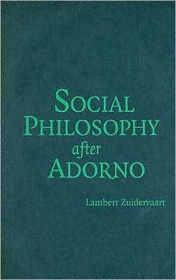 Social Philosophy after Adorno