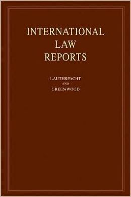 International Law Reports: Volume 135