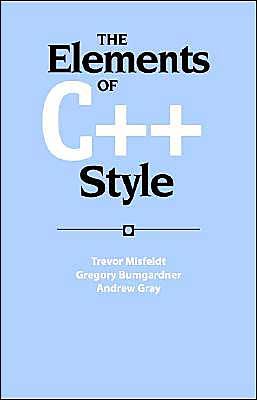 The Elements of C++ Style