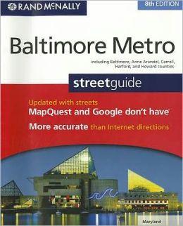 Baltimore, Maryland Metro Atlas