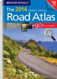 Book Cover Image. Title: 2014 Large Scale Road Atlas, Author: Rand McNally