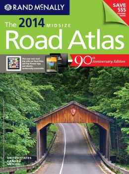 2014 Midsize Road Atlas