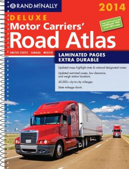 Rand McNally Deluxe Motor Carriers' Road Atlas 2014