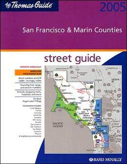 San Francisco and Marin Counties, California Atlas