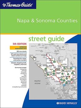 Napa and Sonoma Counties, California Atlas
