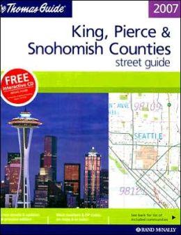 King/Pierce/Snohomish Counties, Washington Atlas