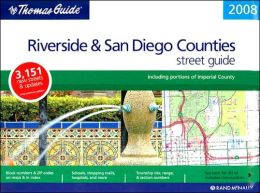 Riverside/San Diego Counties, California Atlas