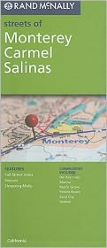 Monterey/Carmel/Salinas, California Map