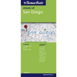 San Diego, California Map