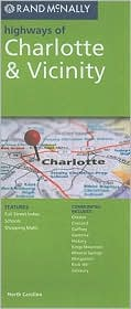Charlotte, North Carolina Map