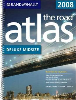 Rand McNally Deluxe Midsize Road Atlas 2008