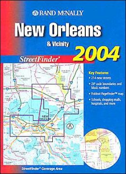 New Orleans & Vicinity, 2004 StreetFinder