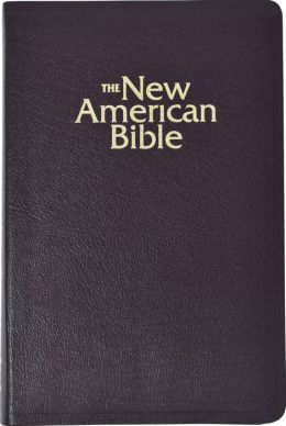 NAB Deluxe Gift and Award Bible: New American Bible, burgundy bonded leather