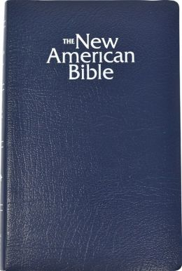 NABRE Gift and Award Bible, navy imitation leather