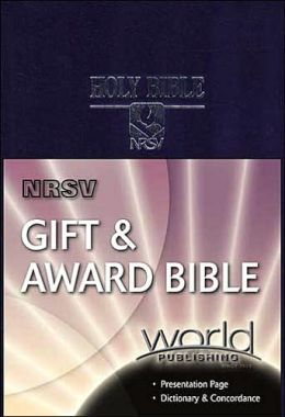 NRSV Gift and Award Bible: New Revised Standard Version, navy imitation leather