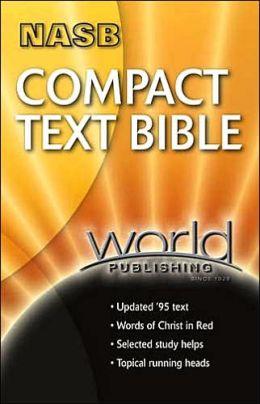 NASB Compact Text Bible