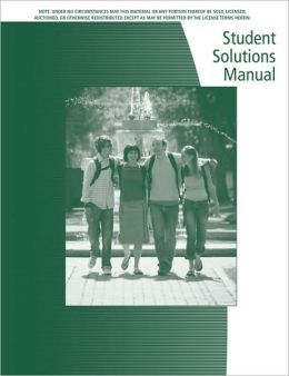 Student Solutions Manual for Stewart's Calculus: Early Vectors