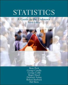 Statistics: A Guide to the Unknown