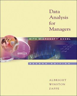 Data Analysis for Managers with Microsoft Excel with CD-ROM and InfoTrac