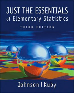 Just the Essentials of Elementary Statistics (with InfoTrac and CD-ROM)