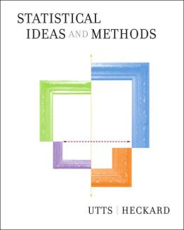 Statistical Ideas and Methods (with CD-ROM)