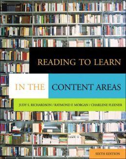 Reading to Learn in the Content Areas (with CD-ROM and InfoTrac?)