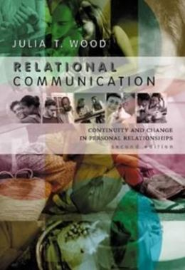 Relational Communication : Continuity and Change in Personal Relationships