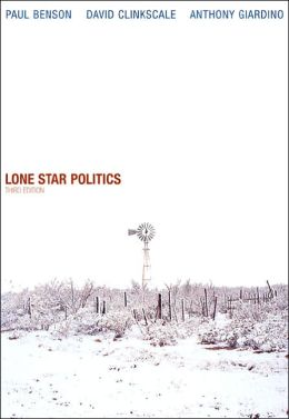 Lone Star Politics (with InfoTrac)