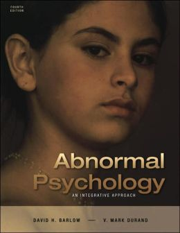 Abnormal Psychology: An Integrative Approach (with CD-ROM and Infotrac(r)) with CDROM and Other