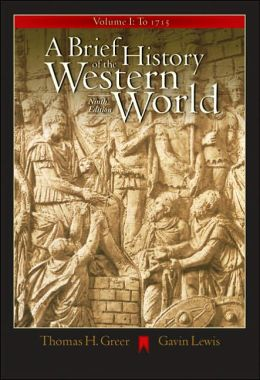 A Brief History of the Western World, Volume I: To 1715 (with CD-ROM and InfoTrac)