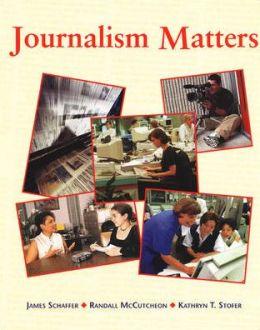 Journalism Matters, Student Edition