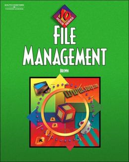 File Management, 10-Hour Series Text/CD Package