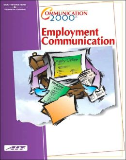 Communication 2000: Employment Communication (with Learner Guide and CD Study Guide): Learner Guide/CD Study Guide Package