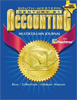 Century 21 Accounting for Texas Multicolumn Journal Approach