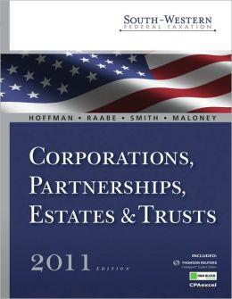 South-Western Federal Taxation 2011: Corporations, Partnerships, Estates and Trusts (with H&R Block @ Home Tax Preparation Software CD-ROM)