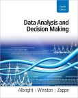 Book Cover Image. Title: Data Analysis and Decision Making (with Online Content Printed Access Card), Author: S. Christian Albright
