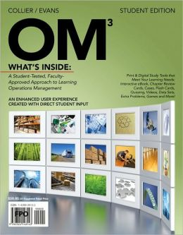 OM (with Review Cards and Decision Sciences & Operations Management CourseMate with eBook Printed Access Card)