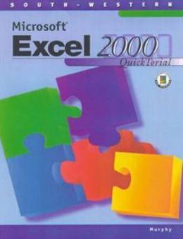 Microsoft Excel 2000 QuickTorial