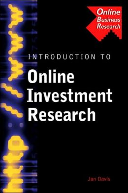 Introduction to Online Investment Research
