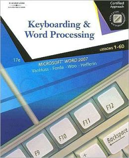 Keyboarding and Word Processing, Lessons 1-60
