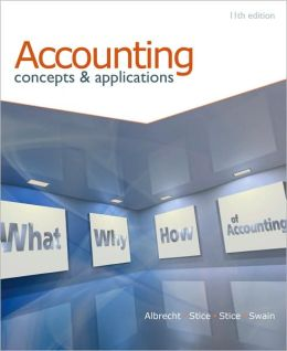 Accounting: Concepts and Applications