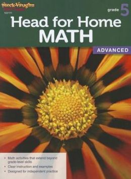 Steck Vaughn Head for Home: Math Advanced Workbook Grade 5