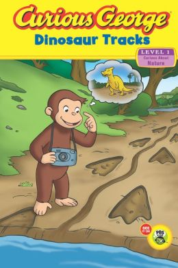 Curious George Dinosaur Tracks (CGTV Read-aloud)