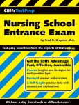 Book Cover Image. Title: CliffsTestPrep Nursing School Entrance Exam, Author: Fred N Grayson