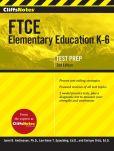 Book Cover Image. Title: CliffsNotes FTCE Elementary Education K-6, Second Edition, Author: Enrique Ortiz