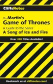 Book Cover Image. Title: CliffsNotes on Martin's Game of Thrones:  A Guide to the Series A Song of Ice and Fire, Author: Philip H. Kitchel