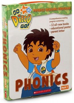 Go, Diego, Go!: Phonics Box Set: Pack 2