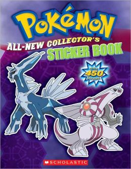 Pokemon: All-New Collector's Sticker Book